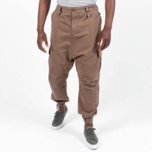 Pantalon cargo basic beige face dcjeans