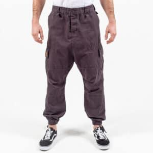 Pantalon cargo basic gris anthracite face dcjeans