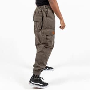 Pantalon cargo basic kaki profil dcjeans