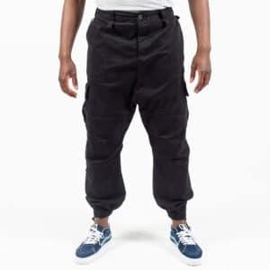 Pantalon cargo basic noir face dcjeans