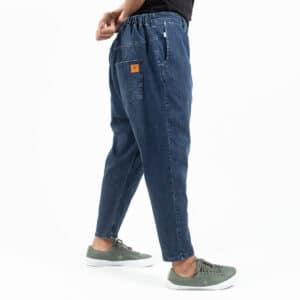 Pantalon jeans basic straight blue profil dcjeans