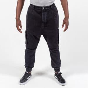 Pantalon jeans cargo black face dcjeans