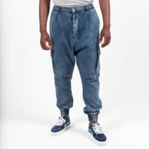 Pantalon jeans cargo dirty face dcjeans
