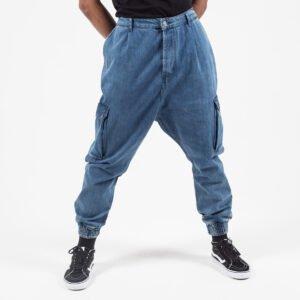 Pantalon jeans cargo light face bis dcjeans