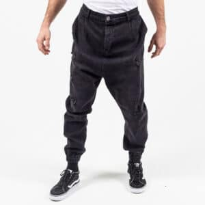 Pantalon jeans destroy black face dcjeans