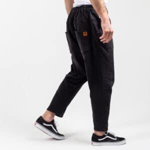 Pantalon jeans straight black profil dcjeans
