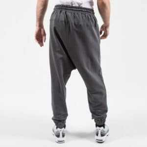 Pantalon jogging basic gris dos dcjeans