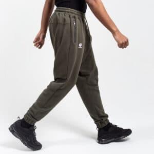 Pantalon jogging basic kaki profil dcjeans