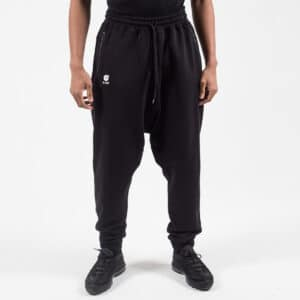 Pantalon jogging basic noir face dcjeans