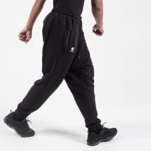 Pantalon jogging basic noir profil dcjeans
