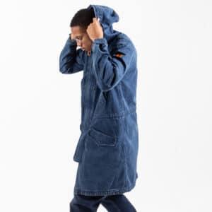Parka jeans blue profil dcjeans