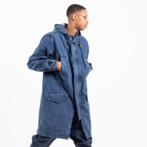 Parka jeans blue profil poche dcjeans