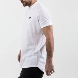 Tshirt manche courte ourlet blanc profil dcjeans