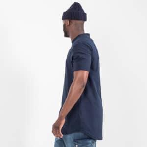 Tshirt manche courte ourlet bleu BIS profil dcjeans