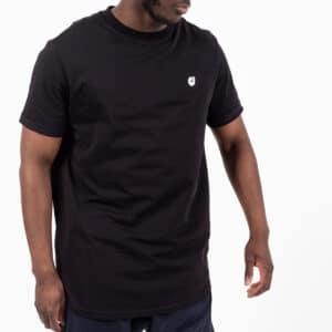 Tshirt manche courte ourlet noir face dcjeans