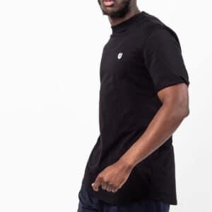 Tshirt manche courte ourlet noir profil dcjeans
