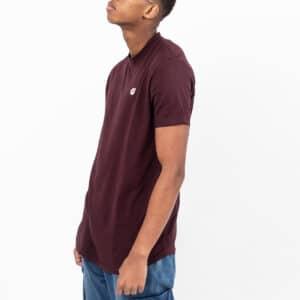 Tshirt manche courte ourlet prune profil dcjeans