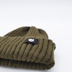 bonnet court kaki logo dcjeans