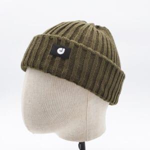 bonnet court kaki profil dcjeans