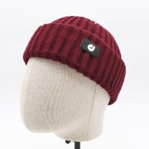 bonnet court prune profil dcjeans