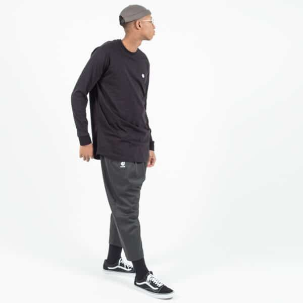 pantacourt classic anthracite complet dcjeans