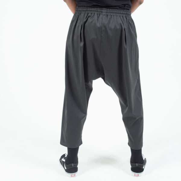 pantacourt classic anthracite dos dcjeans