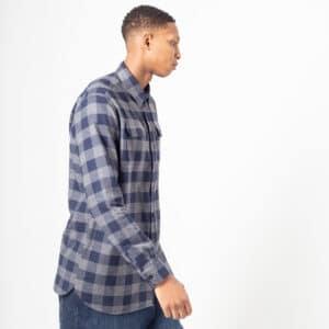 shirt woodcutter bleu profil dcjeans