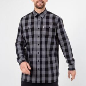 shirt woodcutter noir face dcjeans