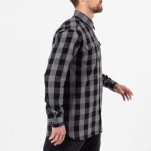 shirt woodcutter noir profil dcjeans