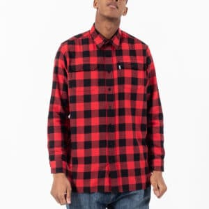 shirt woodcutter rouge face dcjeans
