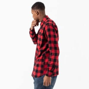 shirt woodcutter rouge profil dcjeans